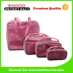 Eco友好的なPUの美構成セットのための装飾的な袋の袋