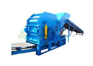 機械、鋼板、建築材料、Mswの無駄のための屑鉄の粉砕機機械をリサイクルする10tph屑鉄