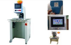 Máquina de impresión de transferencia de etiqueta para el calzado y ropa