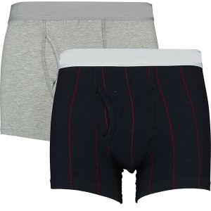 Pack de deux pièces plaine Stripe fashion pas cher hommes Sous-vêtements