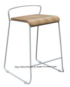 Современный ресторан металла мебель деревянная счетчик бар стульями