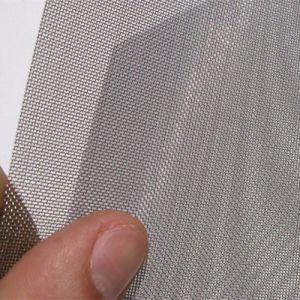 Rete metallica tessuta quadrato dell'acciaio inossidabile