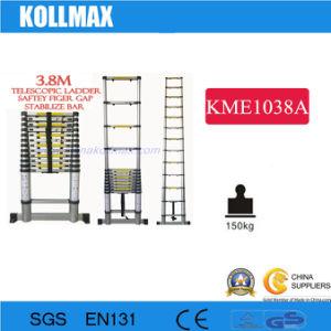 Телескопический 3.8m лестницы с стабилизирующие брусья и их безопасность разрыва