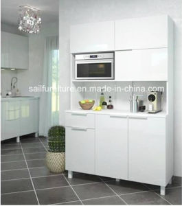 Alta Cozinha placa MDF Sideboard brilhante