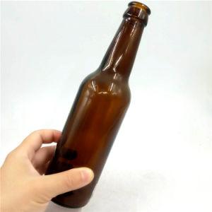 Vider les bouteilles de bière en verre clair de gros de 12 oz 330ml long cou de la bière bouteille de verre 330 ml avec la couronne