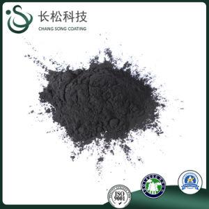 Resistente a altas temperaturas de color negro Pintura de recubrimiento en polvo