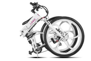 Châssis en alliage aluminium pliable avec batterie masqué E Bike