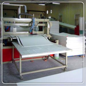 White 1560x3050mm PVC mousse de feuilles d'impression personnalisée