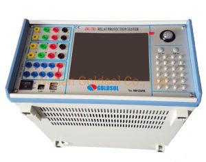Micro-relé de testador de protecção do Conjunto de Teste de injeção de corrente secundária