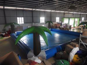 Piscine gonflable géant en PVC pour enfants et adultes