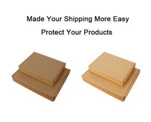 36*30*6 cm de plegado de piezas y accesorios de embalaje caja de envío de correo plano