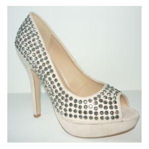 Nouveau design femmes Peep Toe sandales