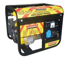 1.0kVA Gasoline Generator (正方形フレームとのWSシリーズ) Hm3000ws