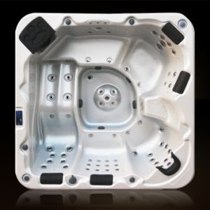 5 Personne-A611 Hight nous de la qualité de l'acrylique une baignoire à remous de Shell