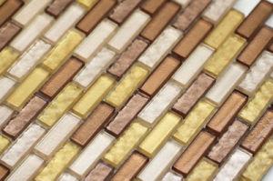 Tuiles de mosaïque - mosaïque en verre de Mirada de tuile de mosaïque