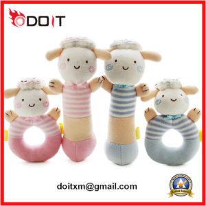 Ce/ASTM-F963 Soft Ovinos bebê brincar guizo de Peluche Definido