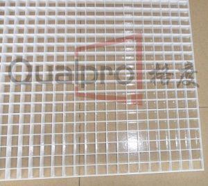 Grelha de ar Eggcrate plástico branco 1200mm*600mm RA6141