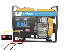 Fy5500 Single Três Professtional eléctrico da máquina de solda Diesel