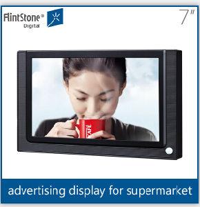 Flintstone 7 Inch Mini Digital Signage와 LCD Advertizing Display