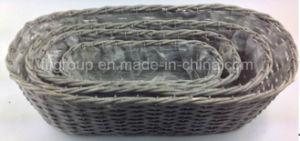 Настраиваемые Eco-Friend Vintage отделкой ручной работы природных ивы цветочными корзинами