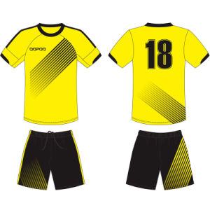 Diseño personalizado de sublimación camisetas Camiseta de fútbol para  jugadores 9a6c10796298e