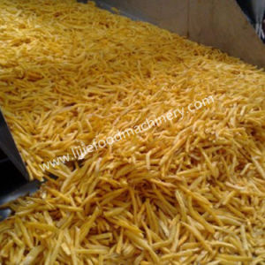 Venta caliente papitas fritas/máquina de freír patatas fritas congeladas