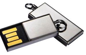 Металлические пропагандистские Custom флэш-накопитель USB ММ2 стиле мини-диск USB (MT013)