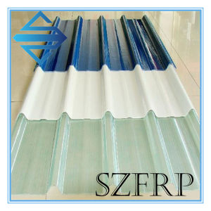 Los paneles del techo de la claraboya de fibra de vidrio ondulado