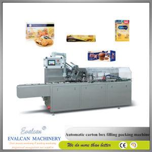 Caixa de pequenas embalagens cartonadas, caixa de embalagem máquina de linha de produção de Cintagem