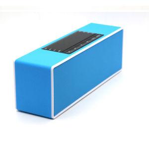 Pantalla LCD inalámbrico de escritorio reloj altavoces estéreo portátiles Soundbar TF altavoces USB
