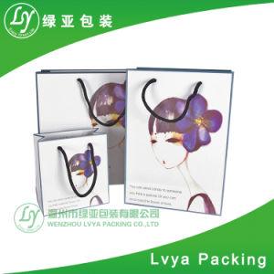 Impresión personalizada Bolsa de tela para ir de compras Bolsa de regalo de papel