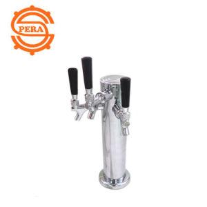 ビール冷却装置のための3つの穴ビールタワー