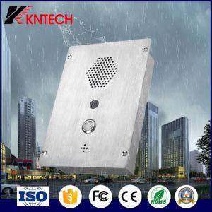 Intercomunicador de vídeo SIP Knzd-37 de telefone de emergência para Tunnel/Metro