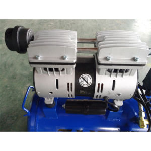 750W 30Lの空気ねじ回転式携帯用Oilfree Oillessのピストン圧縮機ポンプ