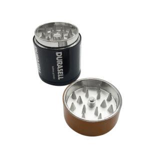 Bateria de aço inoxidável de metal padrão de forma rebarbadora de ervas