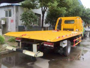 Wrecker della piattaforma della strada di Isuzu 4X2