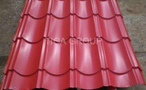 電流を通されるPrepaintedシートカラー亜鉛上塗を施してある鋼鉄屋根瓦に屋根を付ける