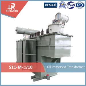 11kv 15kv 33kv Pole-Mounted selle herméticamente Transformador de Distribución