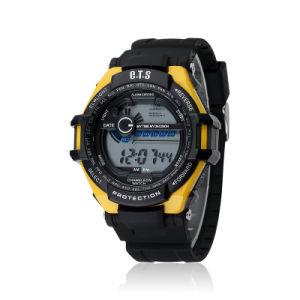 Venta caliente fábrica de plástico personalizada movimiento Digital Sport Watch (JY-SD805A)