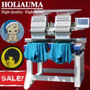 Barato preço Tajima cabeça Tipo 2 máquina de bordado para pac T-shirt plana Calçados Bordados China máquina de costura industrial Irmão venda de Software de Duas Cabeças a dupla