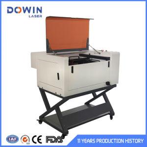 Desktop 6040 máquina de corte e gravação a laser de CO2 para o objeto redondo Eixo Giratório Opcional