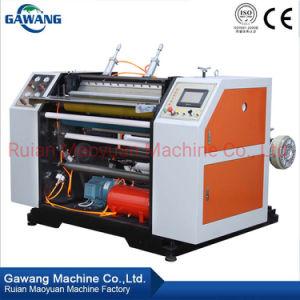 Auto grande velocidade do papel de alta qualidade/FILME/Não Woven-Aluminum tiras corte longitudinal rebobinando a máquina com marcação CE