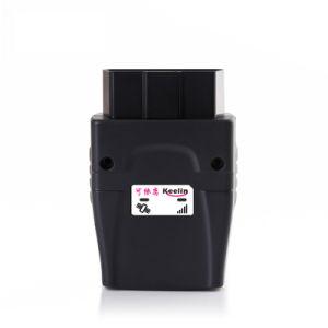 OBD II veículo GPS Tracker com a rotação do motor, a temperatura, o consumo de combustível, quilometragem Cálculo