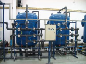 O sistema de tratamento de água (sistema de leito misto)