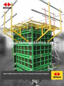 Zolo GK60 Panelized Bastidor de acero Sistema ajustable de encofrados para la columna y la pared