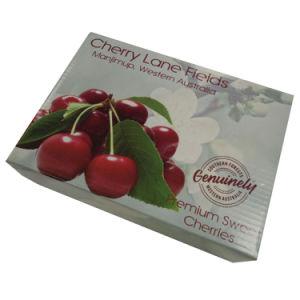 Fruto de dibujos animados de cartón ondulado de Verificación de Cherry
