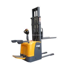 Работает от батареи 6 метр поднимите 1.5/2/2,5 тонн полного/укладчик с электроприводом