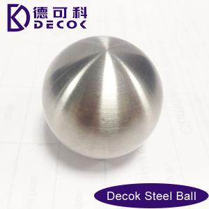 De pequeño tamaño, de acero inoxidable con acabado pulido bola hueca