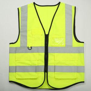 6b27824c33a Chaleco de seguridad personalizado de seguridad de alta visibilidad Ropa de  trabajo de desgaste uniforme de seguridad