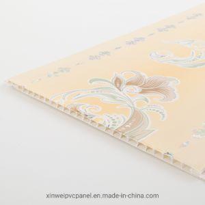 400mm de ancho, el panel de pared PVC PVC China Paneles de pared de plástico de techo panel laminado DC-491
